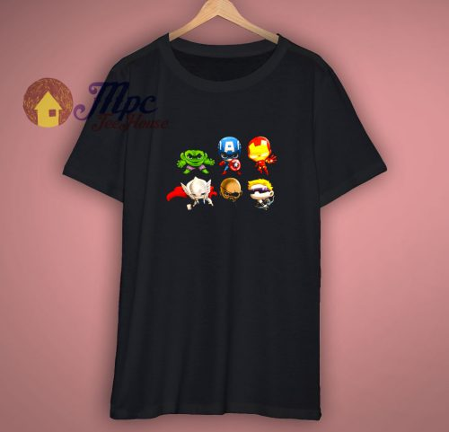 Marvel And Friends The Avengers T Shirt