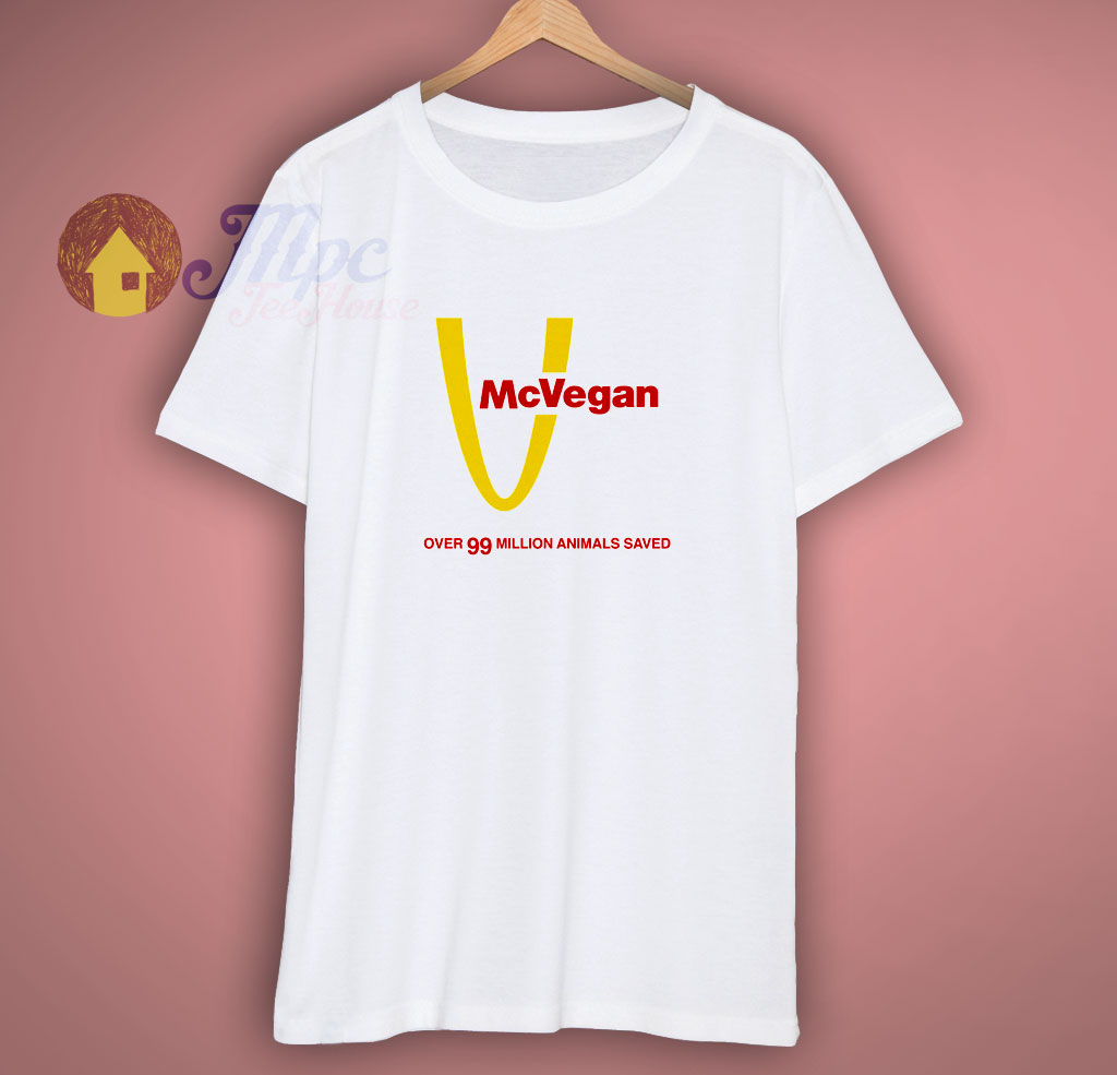 McVegan Fast Food Parody Vegan Shirt