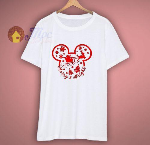 Merry Bright Disney T Shirt