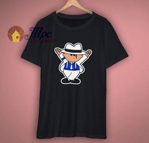 Michael Jackson Inspired Gift Adults Black T Shirt