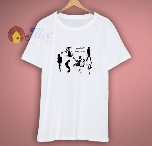 Michael jackson the King of pop t shirt