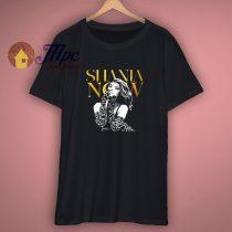 New Shania Twain Tour 2018 Music Legend Singer Mens Black T Shirt