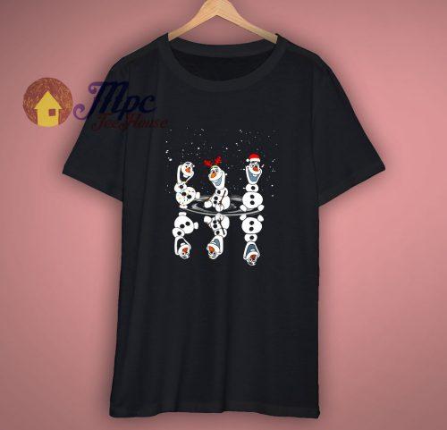 Olaf Dancing Christmas T shirt
