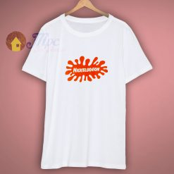 Original Nickelodeon Splat Logo T Shirt Retro 90s
