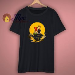 Popeye the Sailor and Little Mermaid Art T Shirt