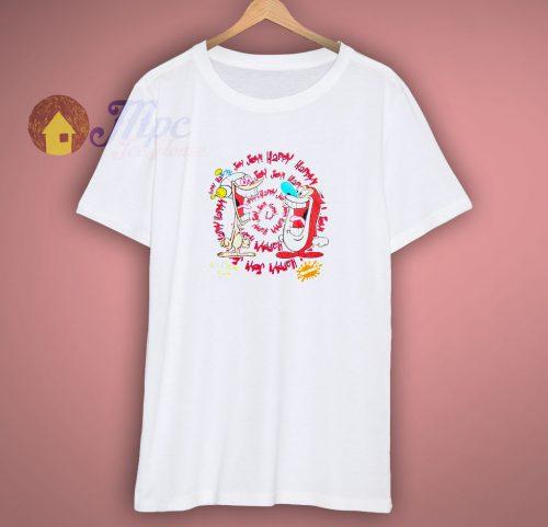 Ren Stimpy Happy Happy Joy Joy T Shirt