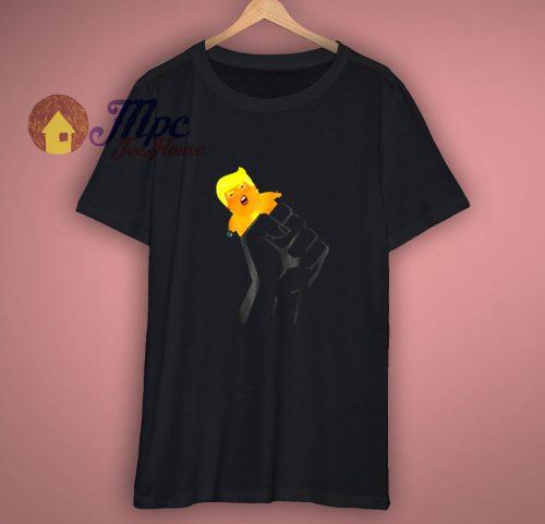 Resist Fist Baby Trump Blimp Balloon T Shirt