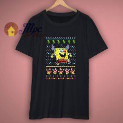 Spongebob Reindeer Christmas Toddler Kids T Shirt