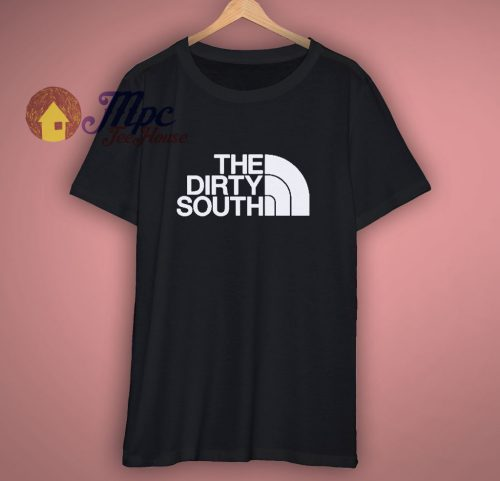 The Dirty South North Face Parody T Shirt