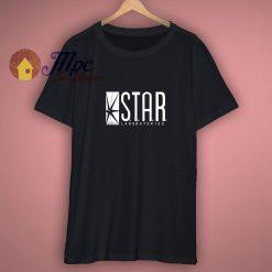 The Flash DC Barry Allen Laboratories Star Labs T Shirt