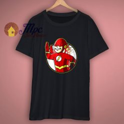 The Flash DC Barry Allens tv show cartoon t shirt