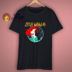The Little Mermaid Disney Rock T Shirt