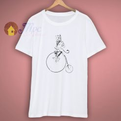 Tiger On A Bike T Shirt