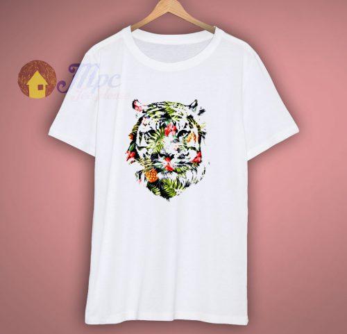 Tropical Tiger T Shirt