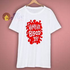 Vampire Blood vintage style ringer