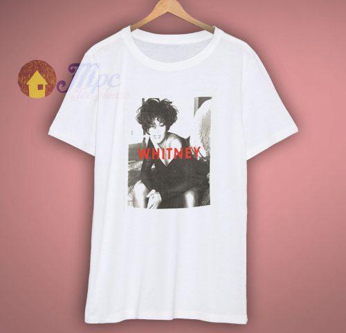 Whitney Houston Portrait T Shirt