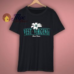 80s West Virginia Almost Heaven t shirt