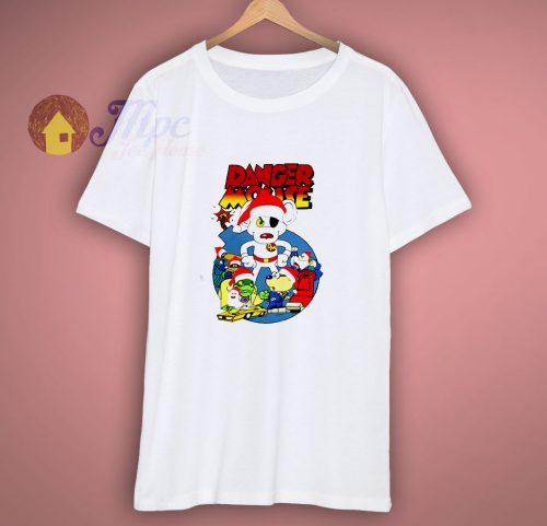 Danger Mouse Santa Christmas T Shirt