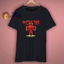 Heaven n Hell Medium UK Concert Tour T Shirt