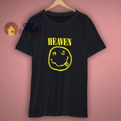 Heaven printed cotton jersey T shirt