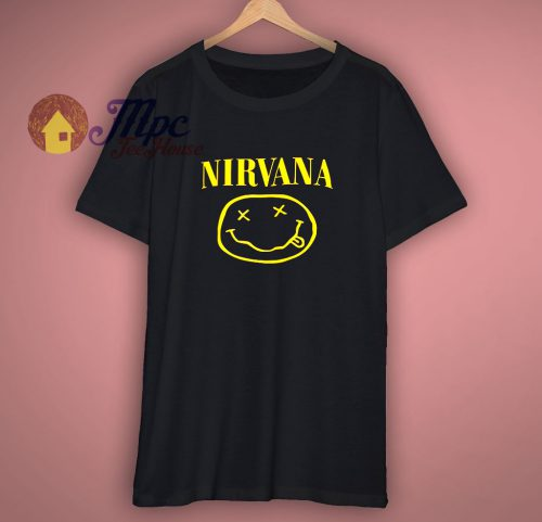Nirvana band tshirt nevermind Rock grunge