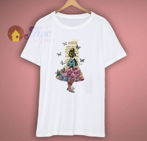 Alice In Wonderland Magical Garden T Shirt