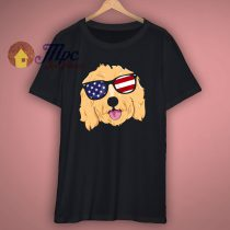 American Goldendoodle Funny T Shirt