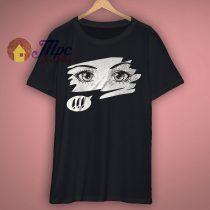Anime Eyes Graphic T Shirt