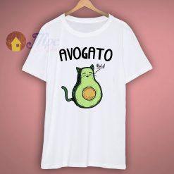 Avocado Cat Cute Cat T Shirt