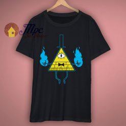 Bill Cipher Gravity Falls T Shirt