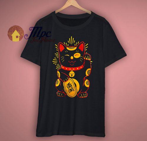 Cool Japanese Good Luck T Shirt