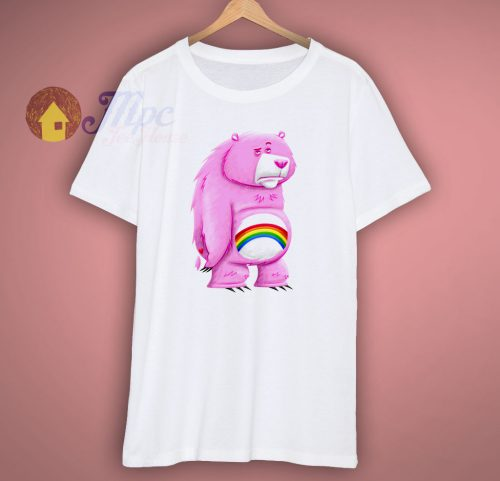 Couldnt Care Less Bear T Shirt