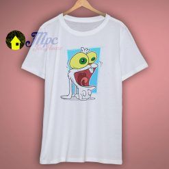 Cute Cartoon Rabbit White T Shirt