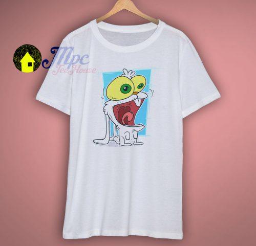 Cute Cartoon Rabbit White T Shirt