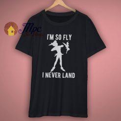Disney Peter Pan So Fly I Neverland T Shirt