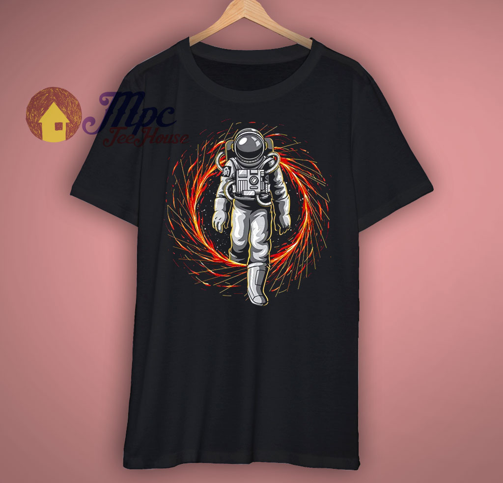 Funny Astronot Graphic T Shirt