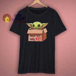 Funny Baby Yoda Adopt This Baby T Shirt