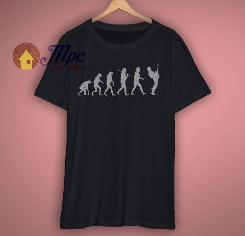Guitar Player Evolution T Shirt