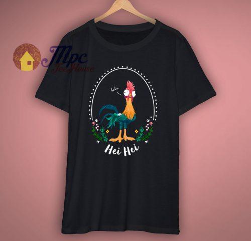 Hei Hei Moana Chicken Funny T Shirt