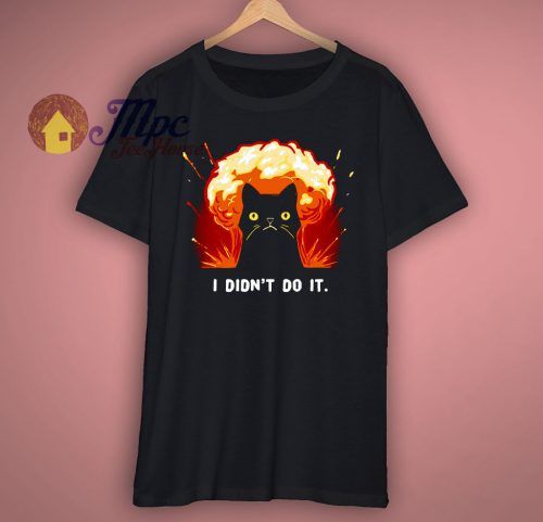I Didnt Do It T Shirt