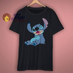 Lilo and Stitch Winky Wink T Shirt
