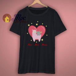 Llive Llove Llama Cute T Shirt
