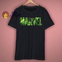 Marvel Logo Hulk Avengers T Shirt