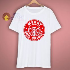 Merry and Bright Christmas T Shirt