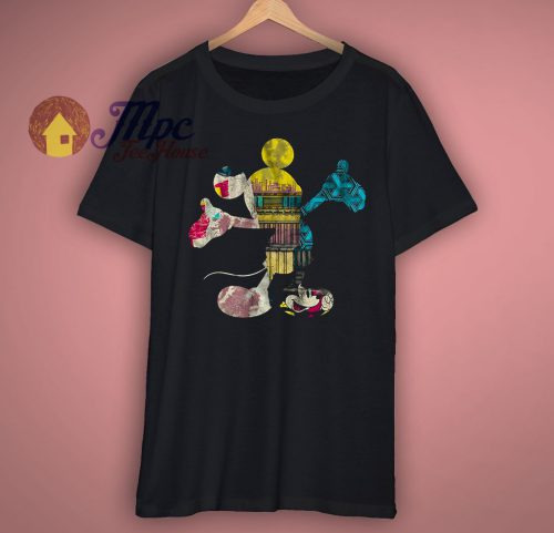 Mickey Mouse Fill Me Graphic T Shirt