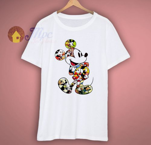 Mickey Mouse Scene Me Vintage T Shirt