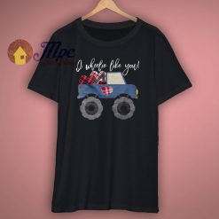Monster Truck Valentine T Shirt
