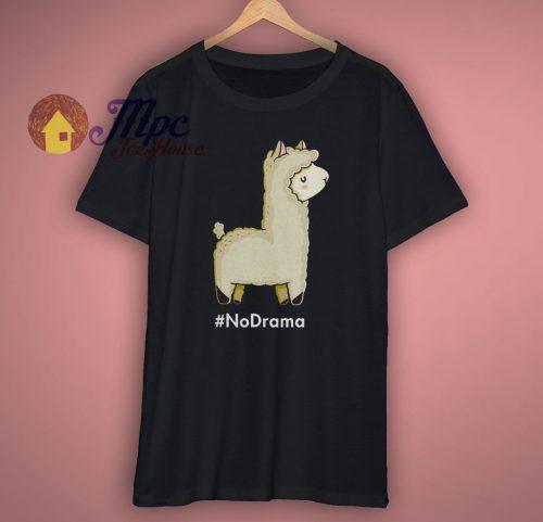 No Drama Llama Graphic T Shirt