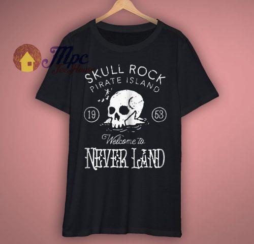 Peter Pan Skull Rock Vintage Graphic T Shirt