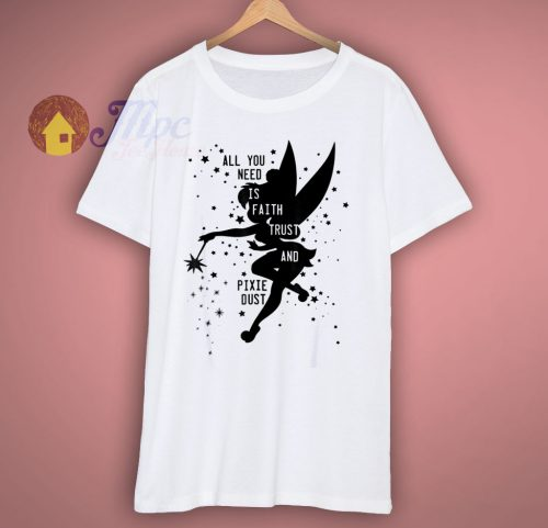 Peter Pan Tinker Bell Pixie Dust T Shirt